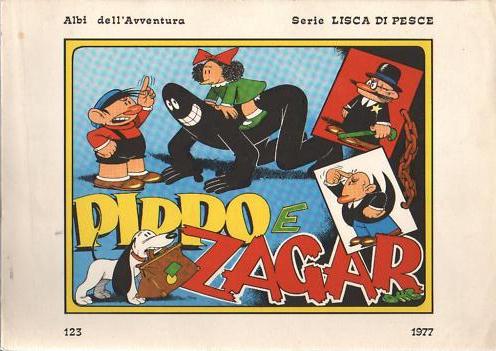 Albi dell'Avventura #123: Pippo e Zagar (1977)