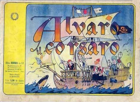 Albo Roma #18: Alvaro il Corsaro