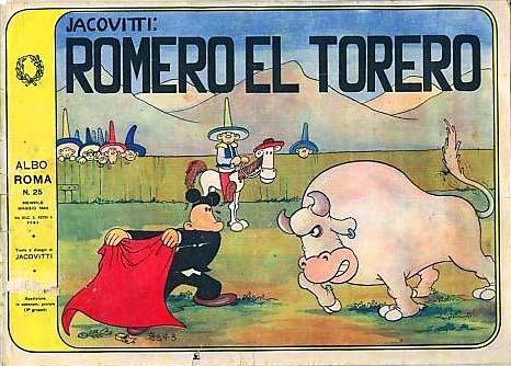 Albo Roma #25: Romero el torero