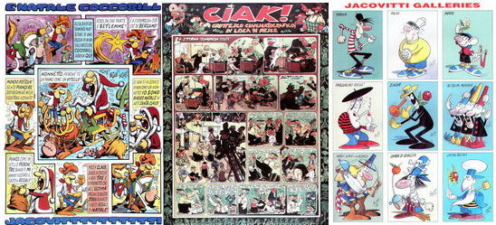 Jacovitti Magazine #9 samples