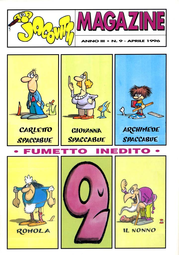 Jacovitti Magazine #9 (1996)