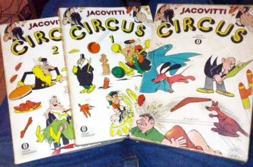 Jacovitti Circus #1, #2, #3 (1978)