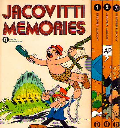 Jacovitti Memories Box Set (Front Cover of the Box)