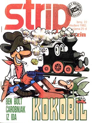 Strip magazin #22 (1982)