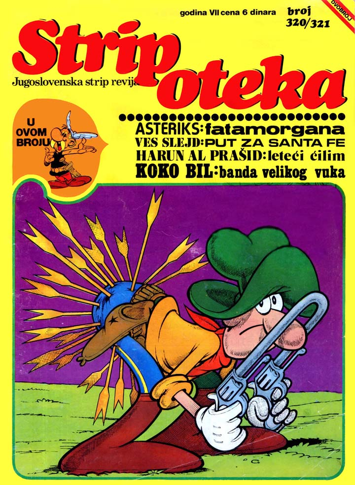 Stripoteka #320/321 (1975)