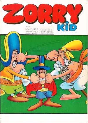 Zorry Kid [FRA] #4 (1970)
