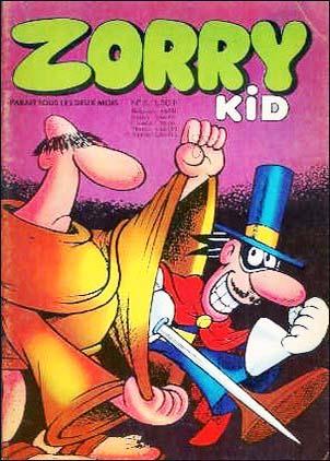 Zorry Kid [FRA] #8 (1970)
