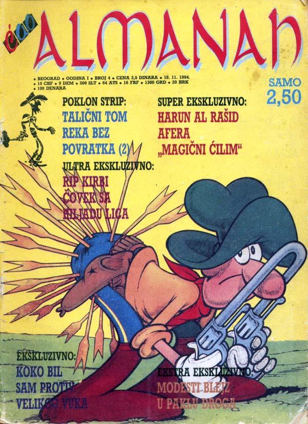 Ćao almanah #4 (Nov. 18, 1994)