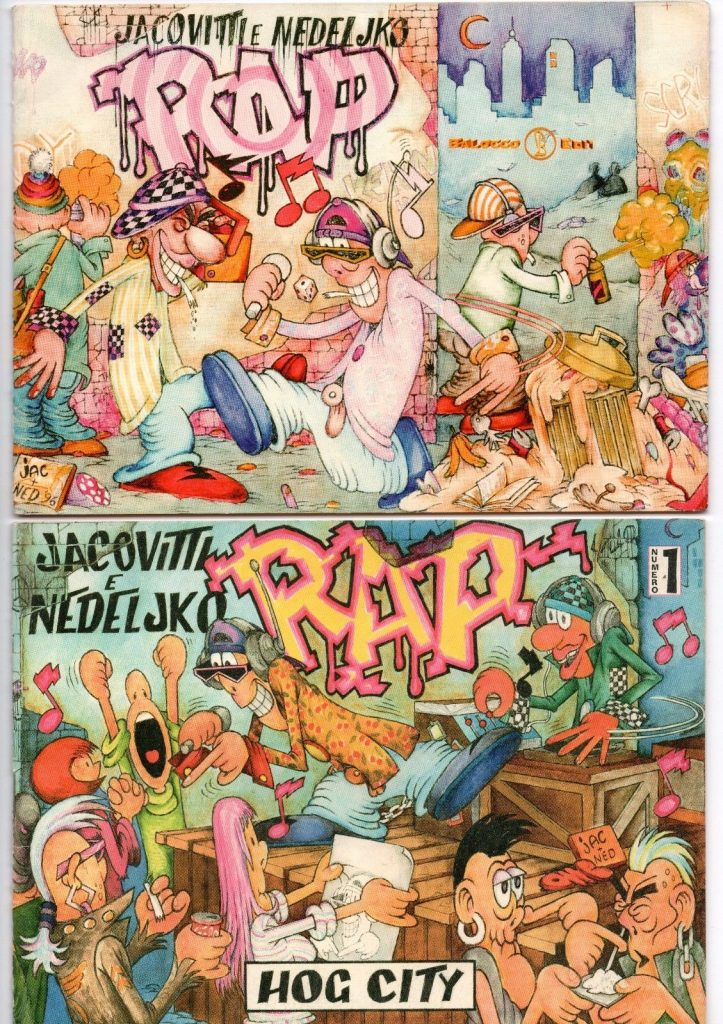Rap Hog City (front)